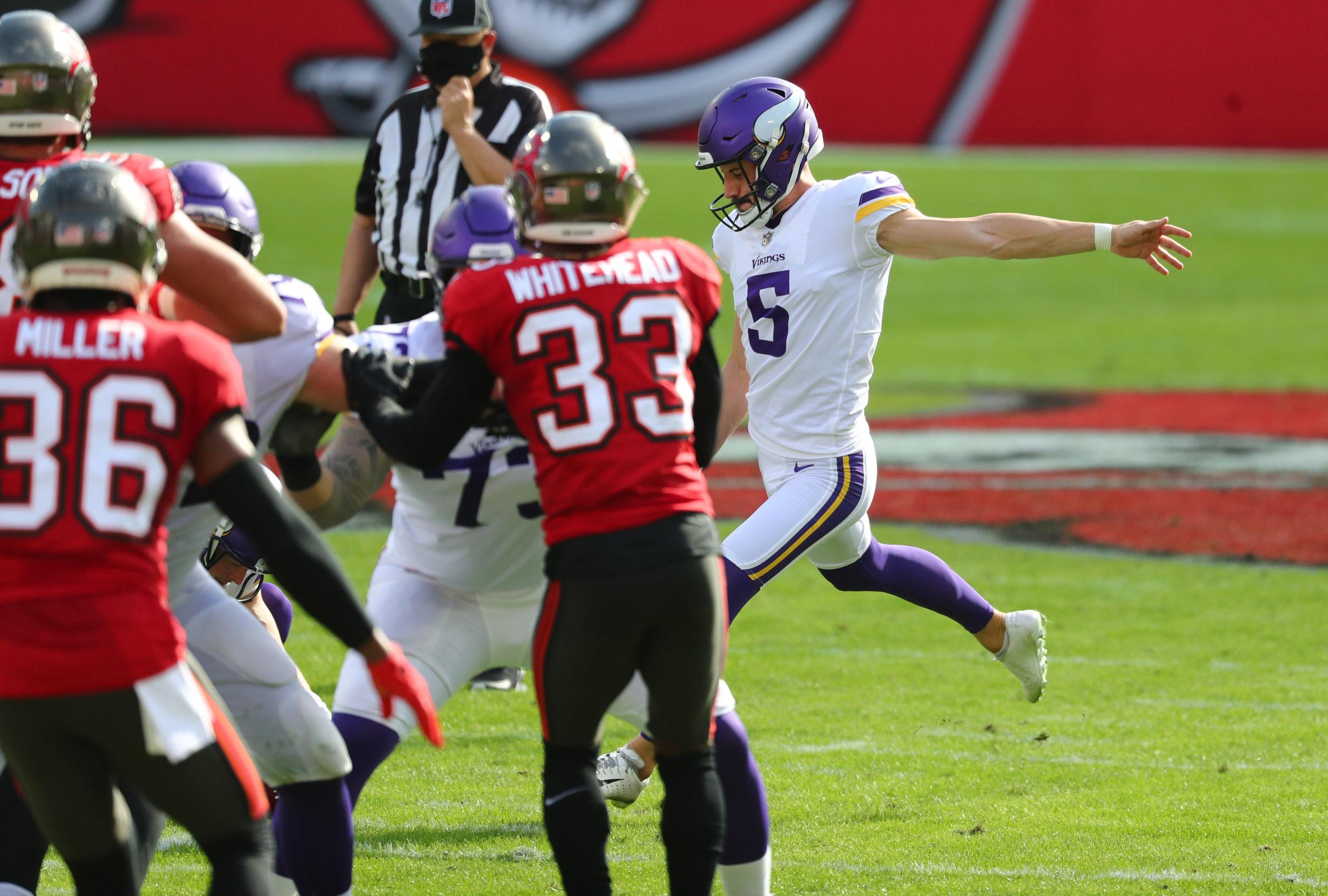 NFL: Minnesota Vikings at Tampa Bay Buccaneers